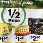 Sirena Tuna 95g $1.25 Half Price at Woolworths