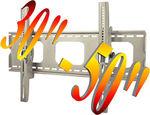 "Brand New 30-50"" Universal Wall Bracket Plasma/LCD, ±15° Lockable @ $30, Free Delivery"