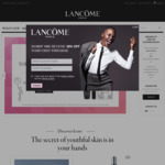 Spend $50 or More and Receive a 4-Piece Gift at Lancome Online