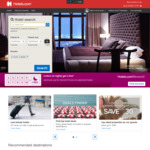 Hotels.com - 10% off Selected Hotel Bookings
