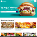 Deliveroo - $10 Lunches Delivered