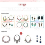 Navya Online Jewelry and Gifts - 20% off Store Wide for Mother's Day, Free Shipping