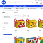 LEGO Classic Various Color Creativity Box Starts from $5 (in-Store, Free C & C or + Postage) @ Big W