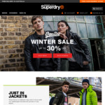 Up to 30% off Sale: Men's Core Down Jacket $140 (Was $200), SD-3 Parka Jacket $161 (Was $230) + More @ Superdry