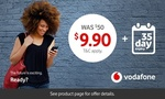 $9.90 for Vodafone's $50 Prepaid Data or Talk Combo Starter Packs @ Groupon