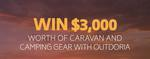Win $3,000 Worth of Caravan & Camping Gear from Outdoria