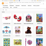 80% OFF Toys and Party Supplies (Shipping from $8) @ MegaBoutique