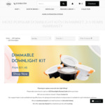 13W LED SceneSwitch Smart Downlight Kit from $13.68 (after 15% off /W Coupon All Downlights + Free Shipping) @ Lectory.com.au