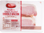 Rindless Middle Smoked Bacon 500g $4.00, Beef Eye Fillet $20.00 per kg @ ALDI