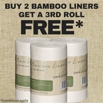 Pea Pods Bamboo Liners - Buy 2 Get 3rd Free