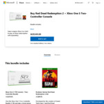 [XB1] Xbox One S 1TB + Extra Controller + Red Dead Redemption 2 for $349 (Free Delivery) @ Microsoft Store