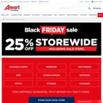 25% off Storewide Including Sales Items @ Amart Furniture