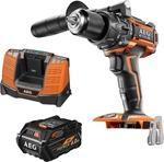 AEG 18V 6.0Ah FORCE Brushless Hammer Drill Kit $199 @ Bunnings