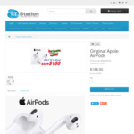 Apple AirPods $188 @ IT Station (Pricematch at OW $178.60)
