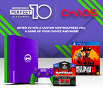 Win a Colorware Customised PS4 Pro Bundle Worth Over $600 or 1 of 2 KontrolFreek Prize Packs from Chaos