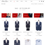 Anthony Squires | Luxury Suits, Sport Coats, Business Shirts - 20% off All Items + up to 60% off Sale Items