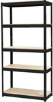 Odin Black Slot-N-Lock 5 Shelf Unit $29.99 @ Stratco