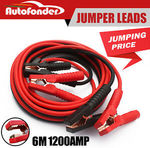 Autofonder Car Booster Cable /Jumper Leads Protected Jump 6M Heavy Duty 1200AMP $19.99 Delivered @ Autofonder eBay