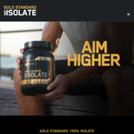 Free Gold Standard 100% Isolate Sample