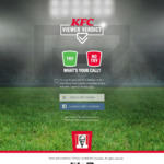 Win a Trip to The NRL Grand Final, NRL Game Passes, Women's State of Origin Passes, Merchandise or KFC Gift Cards from KFC