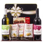 Gift Hamper with Two Wines & Quality Foods - Perfect for Mother's Day (19A001) $29.35 Delivered (Normally $73.50) @ Hamper World