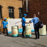 [NSW] Free Boxes of Sunbites Crackers @ Sydney Central Station (Eddy Ave Exit)