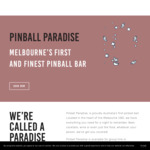 [VIC] Free Unlimited Pinball (Normally $2/Game) from 6:30PM Tonight (22/5) @ Pinball Paradise (Melbourne)