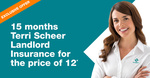House Landlord Insurance - 15 Months for The Price of 12 Months @ Terri Scheer Insurance