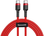Baseus Cafule Series USB-C / Type-C PD 2.0 60W Flash Charge Cable $5.91 1m or $6.59 2m Delivered @ GTech Web Store
