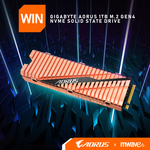 Win a Gigabyte AORUS 1TB M.2 Gen4 NVMe SSD Worth $419 from Mwave