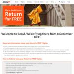Seoul - Return for Free: Ex Gold Coast $309 | Ex Sydney $404 | Ex Melbourne $428 @ Jetstar