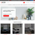 [VIC] 10% off on All Furniture Sitewide + Free Delivery for Selected Postcodes @ Luco Furniture & Decoration, Melbourne