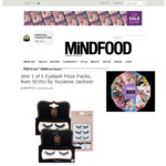 Win 1 of 5 SOSU by Suzanne Jackson Eyelash Prize Packs Worth $50 from MiNDFOOD