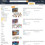 LEGO Advent Calendars (Friends, City, Star Wars) $39 Each Delivered @ Amazon AU