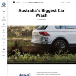 $10 Car Wash and Vacuum at Volkswagen Selected Dealers Oct 5th