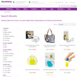 Boon, Tommee Tippee & JJ Cole Baby Products - up to 65% off @ Toy Universe