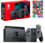Nintendo Switch 2019 (Neon or Grey) + Mario Kart 8 or Super Mario Odyssey $447.91 Delivered @ The Gamesmen eBay