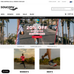 20% off Sitewide, Including Sale Items. $10 Postage or Free w/$100 Spend @ Saucony Australia