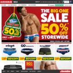 50% off Everything Storewide - Mens Underwear, Swimwear, Clothing @ aussieBum