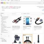 [eBay Plus] $15 Products Delivered & Buy 1 Get 4 Free: Charging Cables, Power Cords, Selfie Stick + More @ Shopping Square eBay