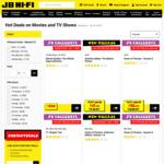 30% off Blu-Ray, 4K & DVDs and 20% off CDs & Vinyl @ JB Hi-Fi