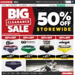 50% off Storewide @ aussieBum