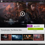 [PC] DRM-free - Thronebreaker:The Witcher Tales - $14.99 AUD - GOG