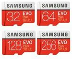 Samsung EVO Plus 32GB MicroSD $7.95 Delivered @ Apus Express eBay