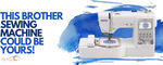 Win a Brother SE 600 Sewing Machine from Madam Sew