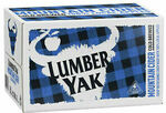 Lumber Yak Cider 24 Carton $53 Delivered ($48 with POUR5) @ CUB eBay (RRP $62)