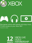 [VPN Required] [XB1] 12 Months Xbox Live Gold - $38.99 @ CD Keys