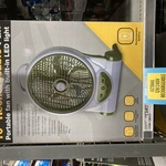 "10"" Rechargeable Fan with LED Light $49.99 (Normally $134.99) @ Anaconda (Club Members)"