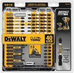 DEWALT DWA2T40IR Impact Ready FlexTorq Screw Driving Set, 40-Piece $35.18 + Delivery ($0 w/Prime & $49 Spend) @ Amazon US via AU