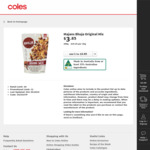 ½ Price Majans Bhuja Mix 140g-200g Varieties $1.92 @ Coles